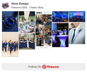 Pinterest Board - Classic Blue