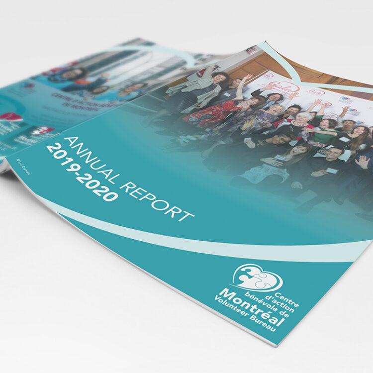 Rapport annuel Centre d'action bénévole de Montréal